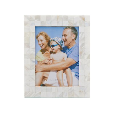 Mother of Pearl Square Shell Mosaic Picture Frame