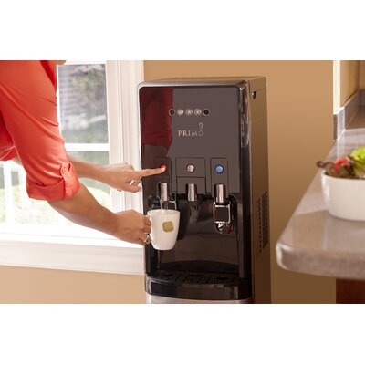 HTrio Beverage Centre Free-Standing Hot and Cold Water Dispenser with Integrated K-Cup Single Serve Brewing 601225