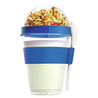 12 Oz. Yogurt Cup Storage Container Color: Blue YO2GOSB