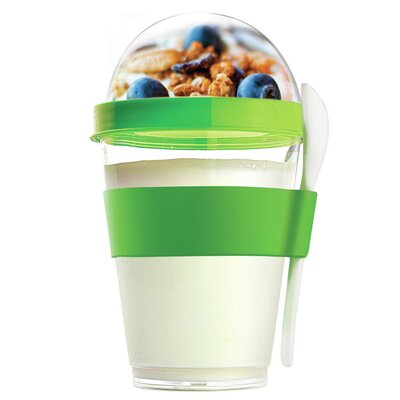 12 Oz. Yogurt Cup Storage Container Color: Green YO2GOSL