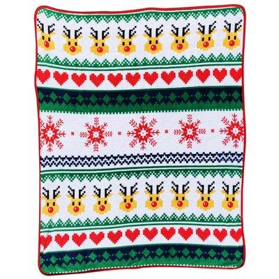 Ugly Christmas Throw Blanket