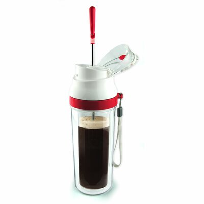 The Modern Press Coffee Maker Color: Lipstick Red FP3 - RED