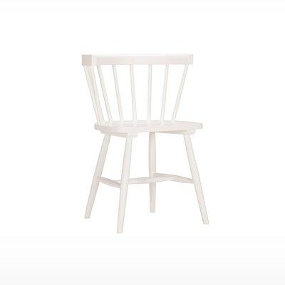 Lyla Side Chair (Set of 2) Finish: White