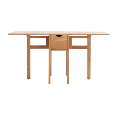 Hallie Folding Dining Table Finish: Oak