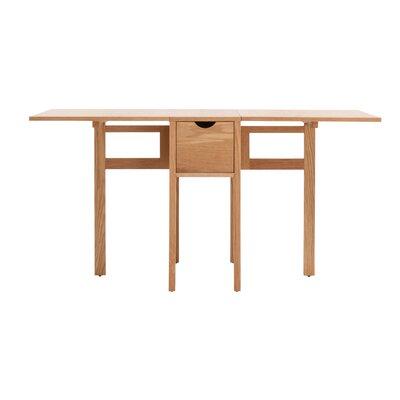 Hallie Folding Dining Table Finish: Oak