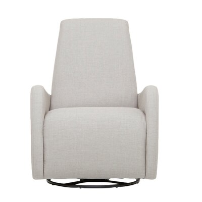 Karbon Swivel Armchair Upholstery: Key Largo Denim