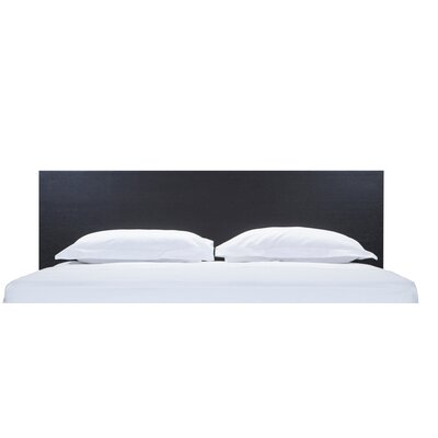 Simple Bed Panel Headboard Size: Full, Finish: Onyx