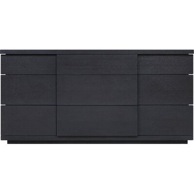 Boom 9 Drawer Dresser Color: Onyx