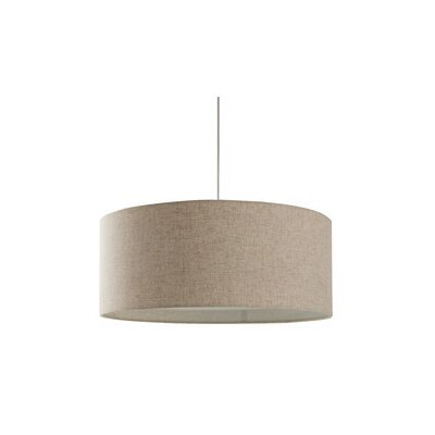 Conick 3-Light Drum Pendant Finish: Linen