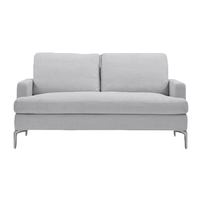 Eve Loveseat Upholstery: Polo Grey