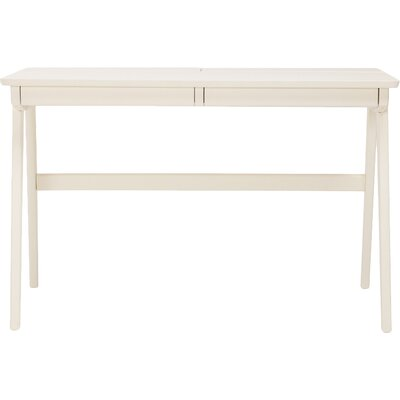 Kick Writing Desk Finish: White
