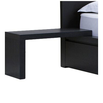 Simple L-Nightstand Finish: Onyx