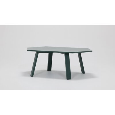 Large Coffee Table Finish: Forest Green