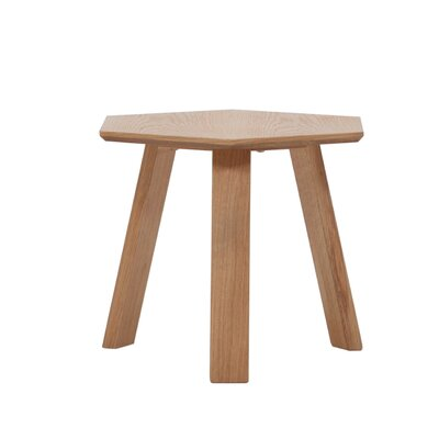Haptic End Table Color: Oak