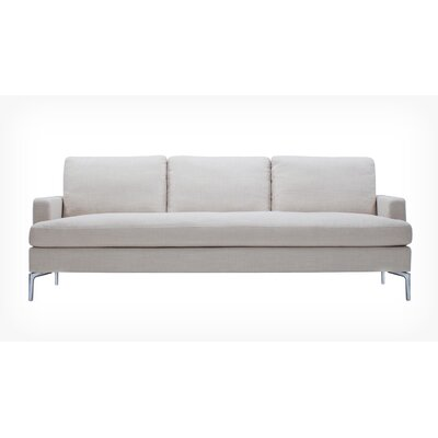 Eve Sofa Body Fabric: Nolan Gunmetal