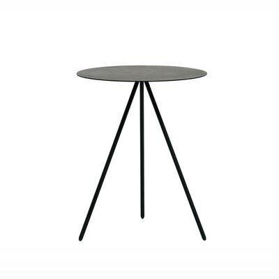 Taaj End Table Finish: Black Lacquer