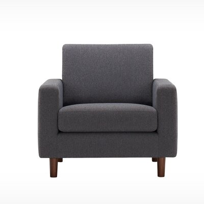 Oskar Armchair Body Fabric: Polo Leather