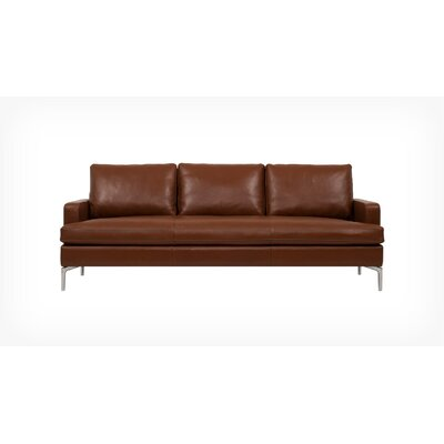 Eve Sofa with Chaise Upholstery: Silver