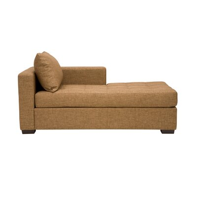 Porter Chaise Lounge Body Fabric: Polo Nutmeg, Sectional Orientation: Right Hand Facing