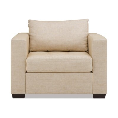 Porter Armchair Body Fabric: Polo Cream