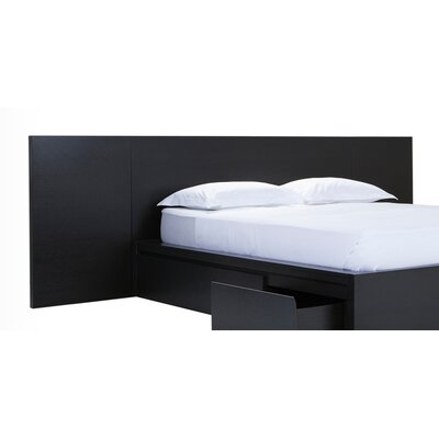 Simple Panel Headboard Color: Onyx