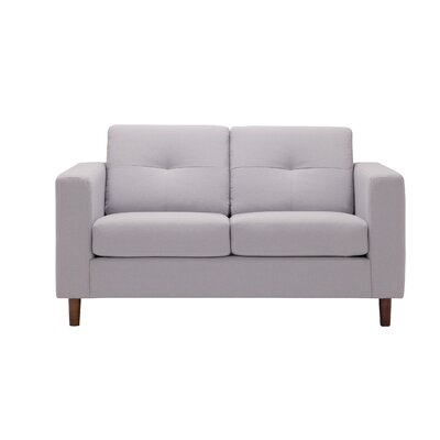 Solo Loveseat Upholstery: Grey