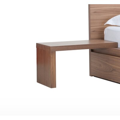 Simple Nightstand Color: Walnut