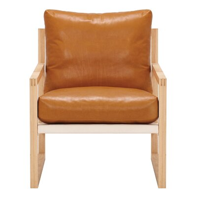 Chiara Armchair Body Fabric: Coachella Cognac