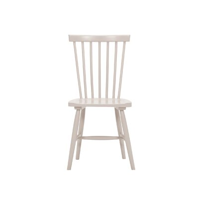 Lyla Dining Chair (Set of 2) Finish: Grey Wash