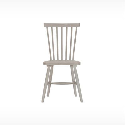 Sowerby Solid Wood Dining Chair (Set of 2) Finish: Grey Wash