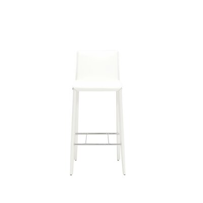 29 Bar Stool (Set of 2) Finish: White