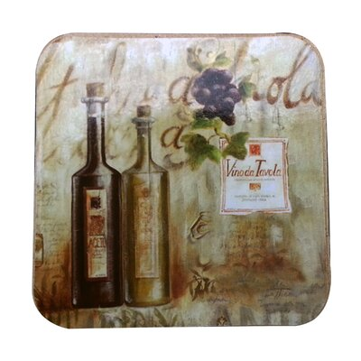 Vinoda Tavola Cork Back Coaster