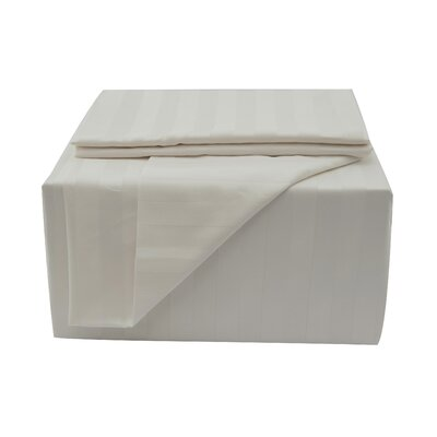 600 Thread Count Sheet Set Color: Ivory, Size: Full