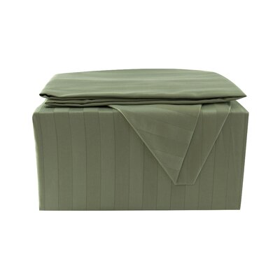 600 Thread Count Sheet Set Size: California King, Color: Olive