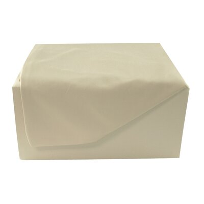 400 Thread Count Sheet Set Color: Khaki, Size: Twin