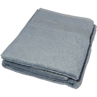 Soft Touch Cotton 3 Piece Towel Set Color: Smoke Blue