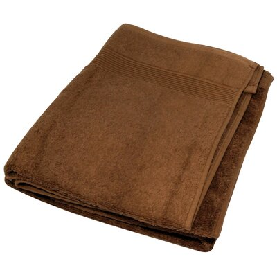 Soft Touch Cotton 3 Piece Towel Set Color: Chocolate