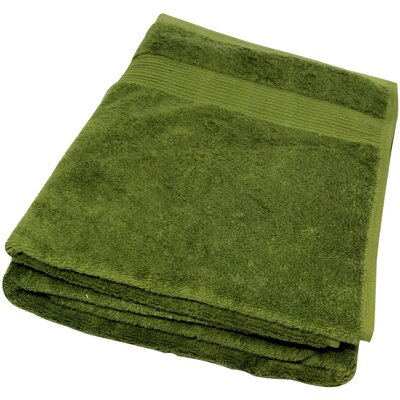 Soft Touch Cotton 3 Piece Towel Set Color: Green