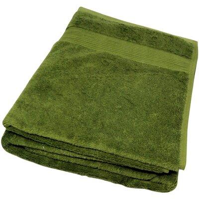 Soft Touch Cotton 3 Piece Towel Set Color: Green