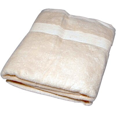 Soft Touch Cotton 3 Piece Towel Set Color: Beige