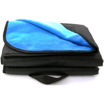 Outdoor Stadium Throw Blanket Color: Smoke Blue