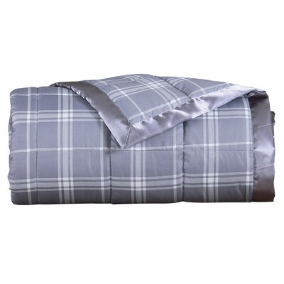 Plaid Down Alternative Blanket Size: Full/Queen