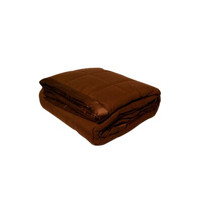 Blanket Color: Chocolate, Size: Twin