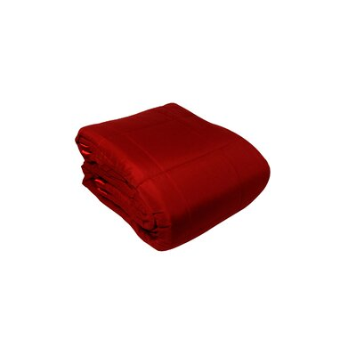 Blanket Color: Red, Size: Twin