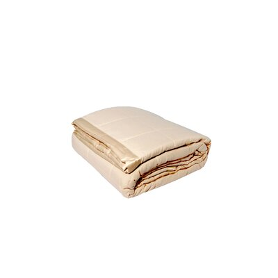 Blanket Color: Ivory, Size: King