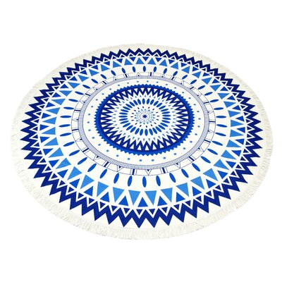 Amendola Mandala Round Beach Towel