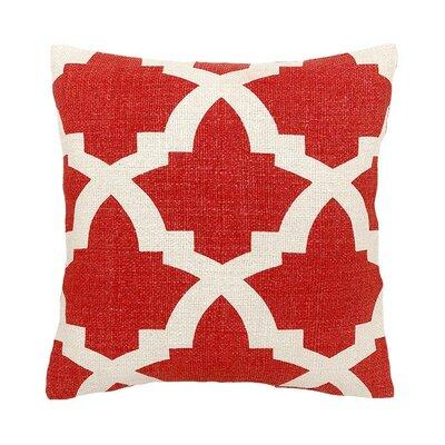 Island Dreams Silk Throw Pillow Color: Maui