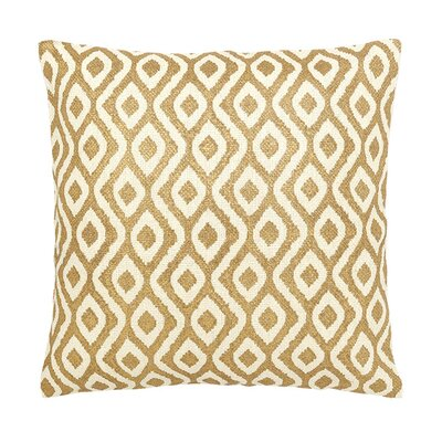 Island Dreams Silk Throw Pillow Color: Tahiti
