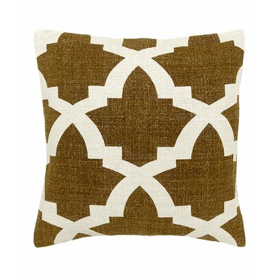 Island Dreams Silk Throw Pillow Color: Bali