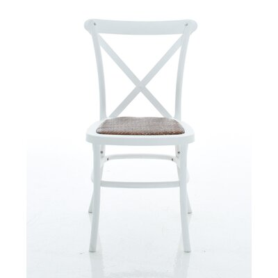 Ivan X-Back Armless Dining Chair